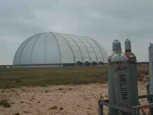 Der größte Hangar der Welt: die CARGOLIFTER Luftschiffhalle