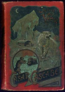 Verlag Meidinger, Cäsar Cascabel, Buchdeckel der 1. Auflage. (1891) Roter Einband